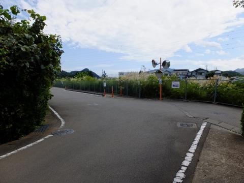 上野原用水・中央道付近