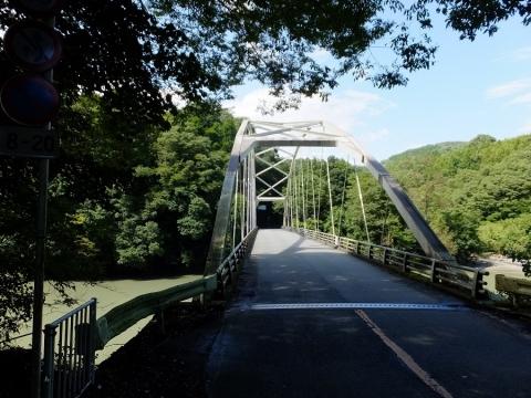 桂川に架かる境橋