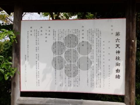 第六天神社・由緒書き
