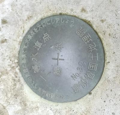 第六天神社・国土地理院の水準点