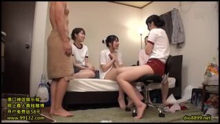 【エロ動画】激カワでHなブルマの妹アイドルの、パイズリハーレムセックスプレイがエロい。めちゃキュートです!