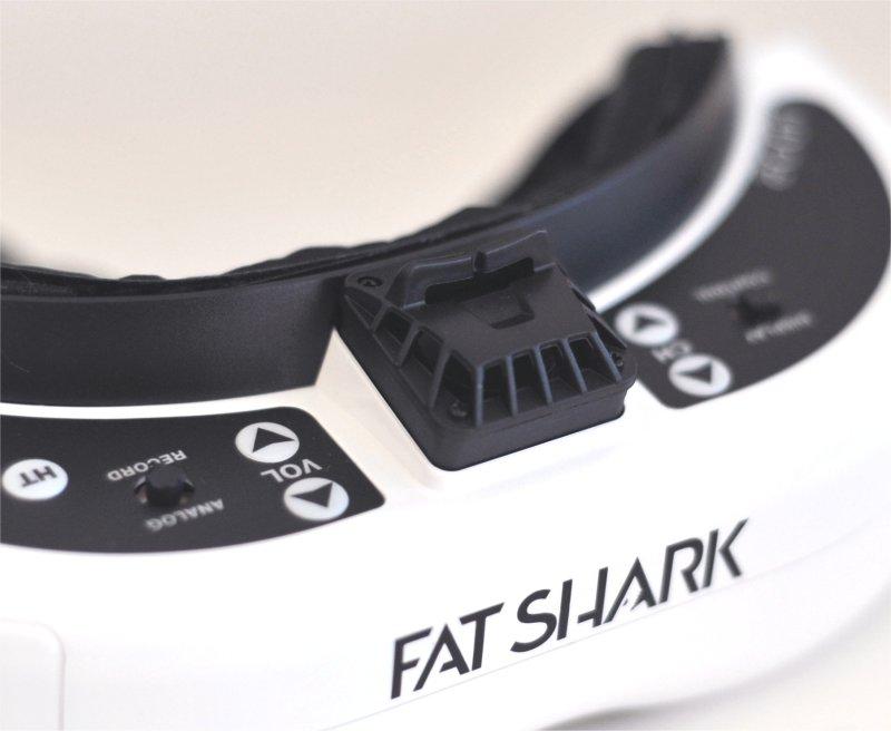 FatShark Dominator HDO2 レビュー(4) / レガシーモード/ボタンモードの切替