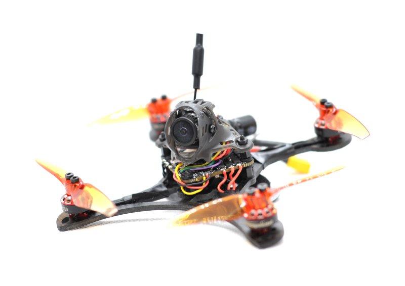 自作ドローン: 3インチToothpick機体をつくる (8) / 機体完成