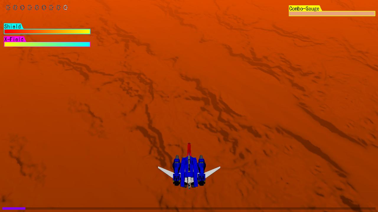 ステージ8、火星上空