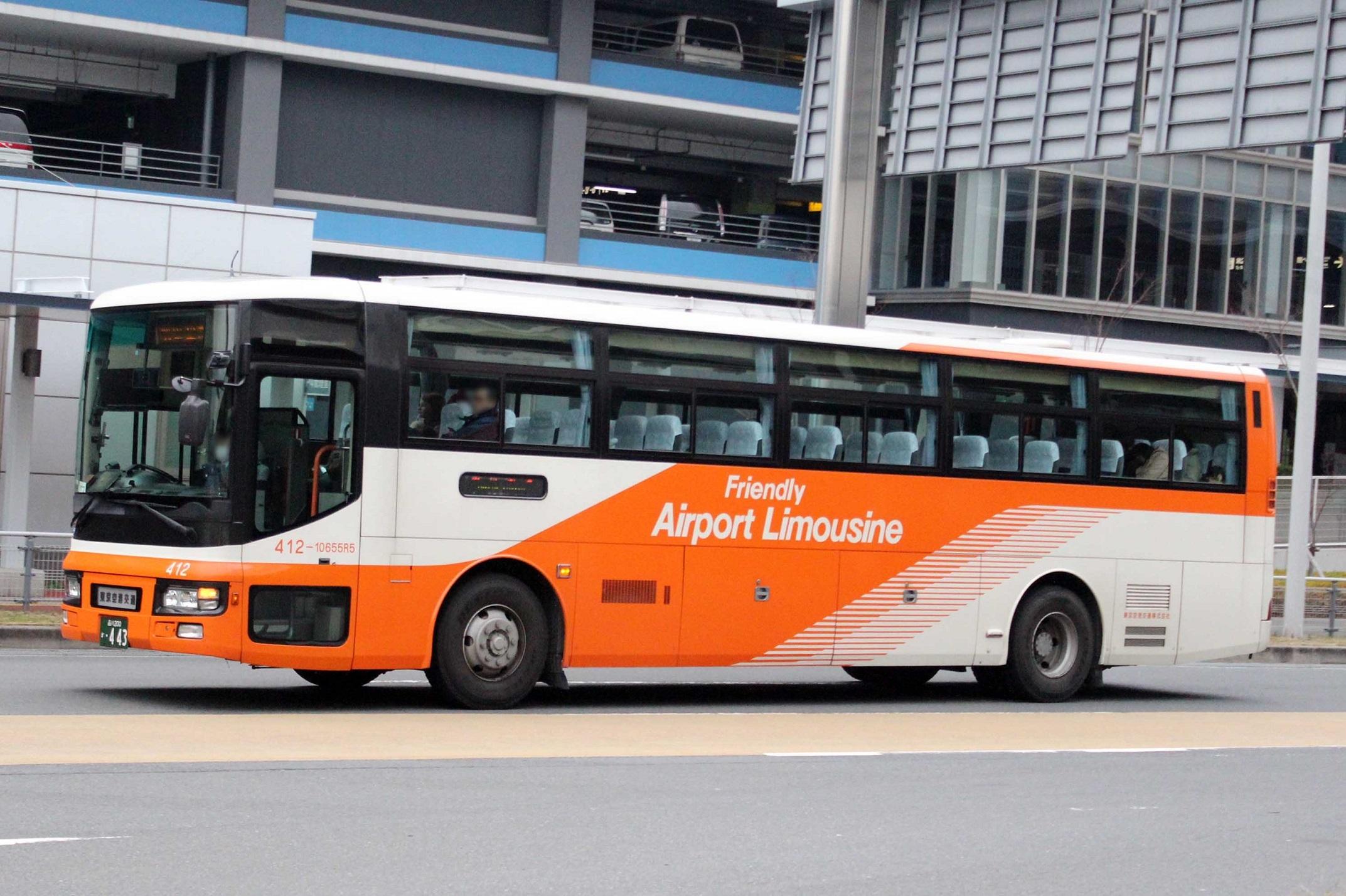東京空港交通 412