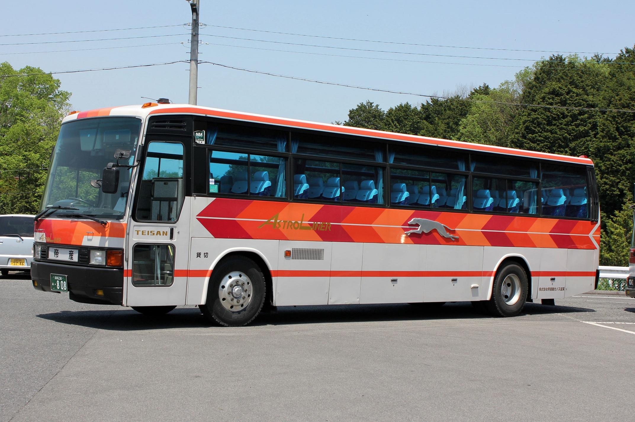 帝産観光バス滋賀 あ808