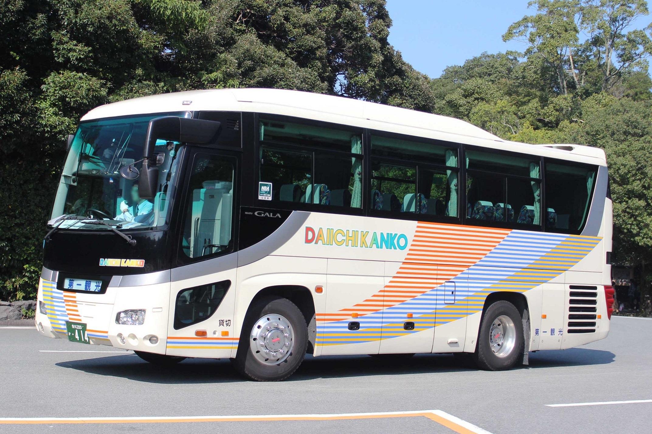 第一観光バス か414