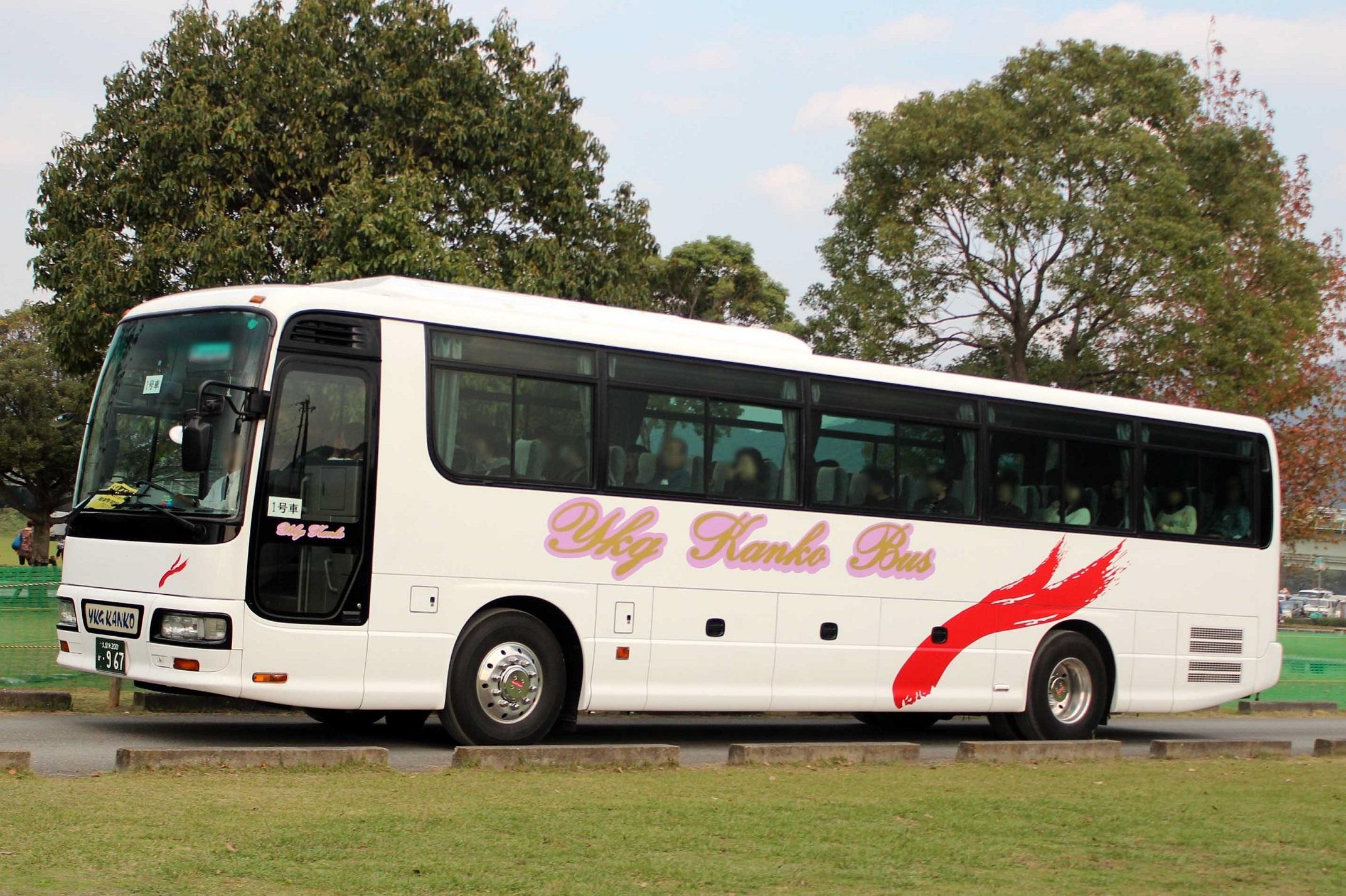 YKG観光バス か967