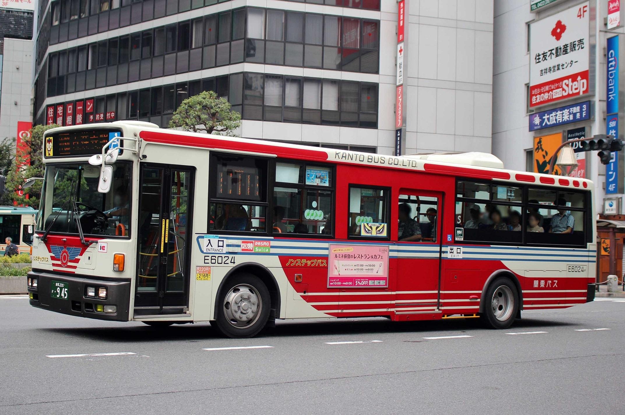 関東バス E6024