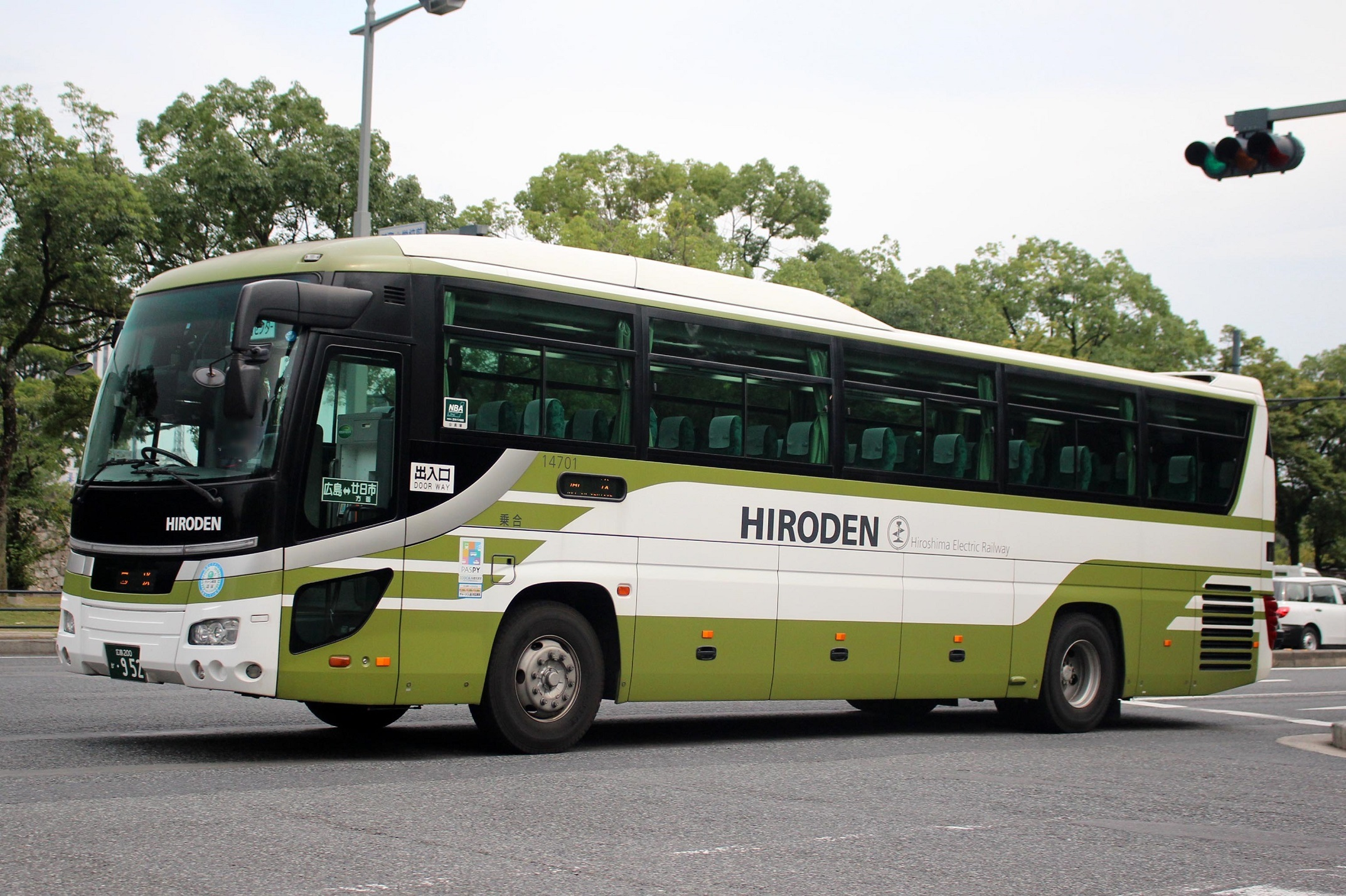 広島電鉄 14701