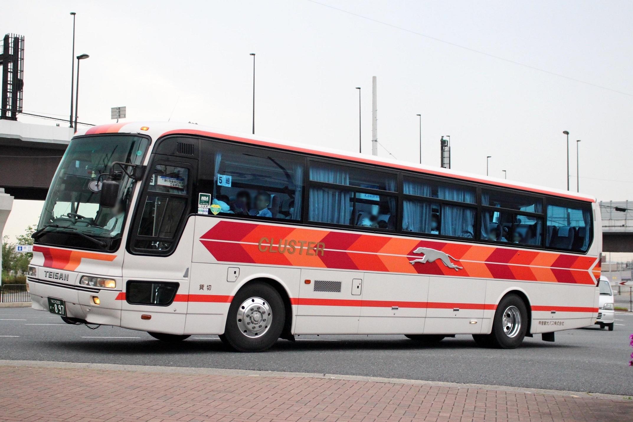帝産観光バス か897