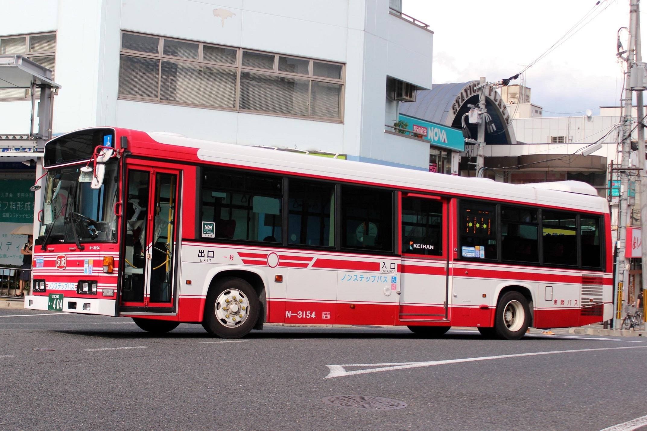 京阪バス N-3154