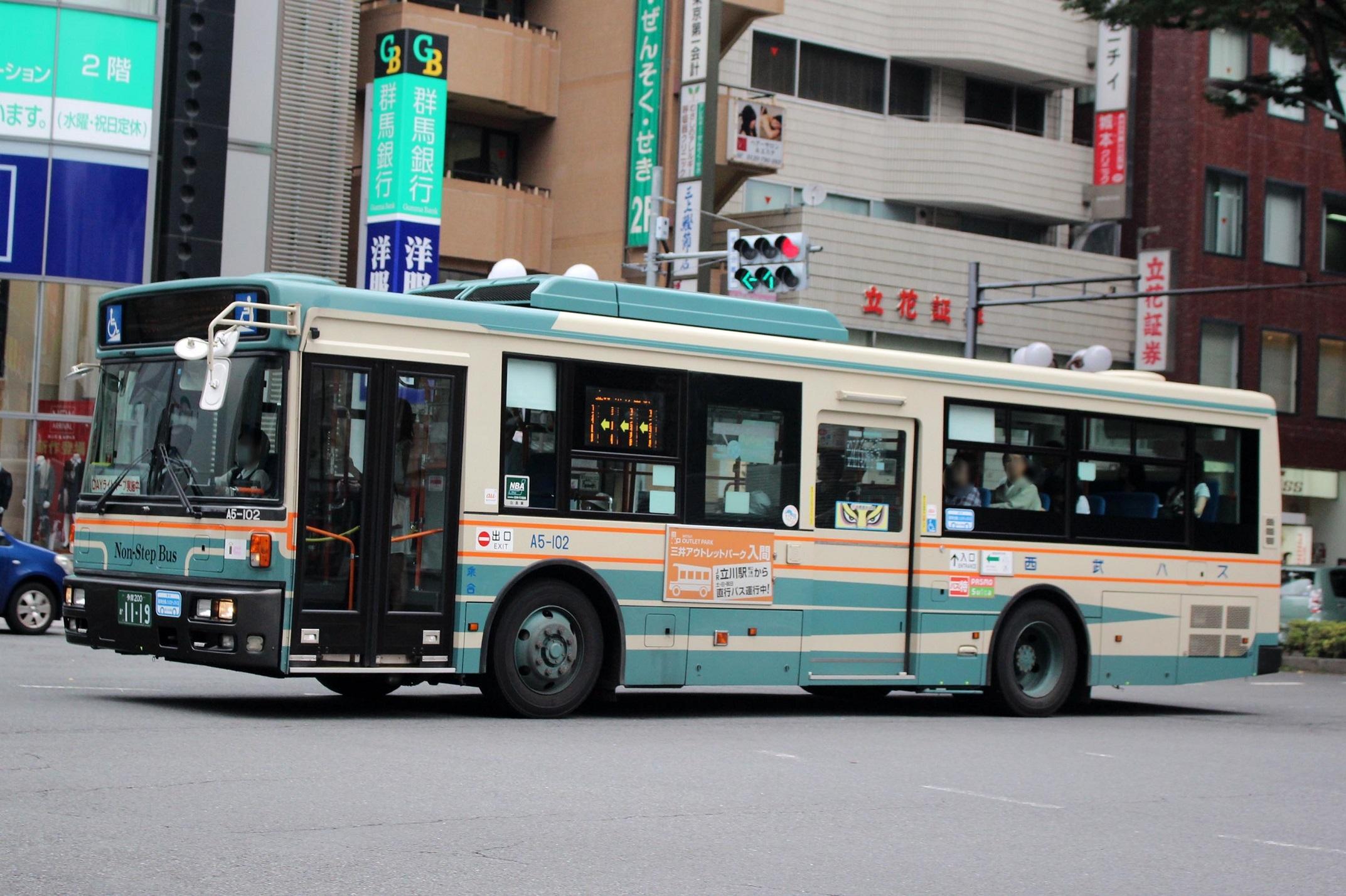 西武バス A5-102