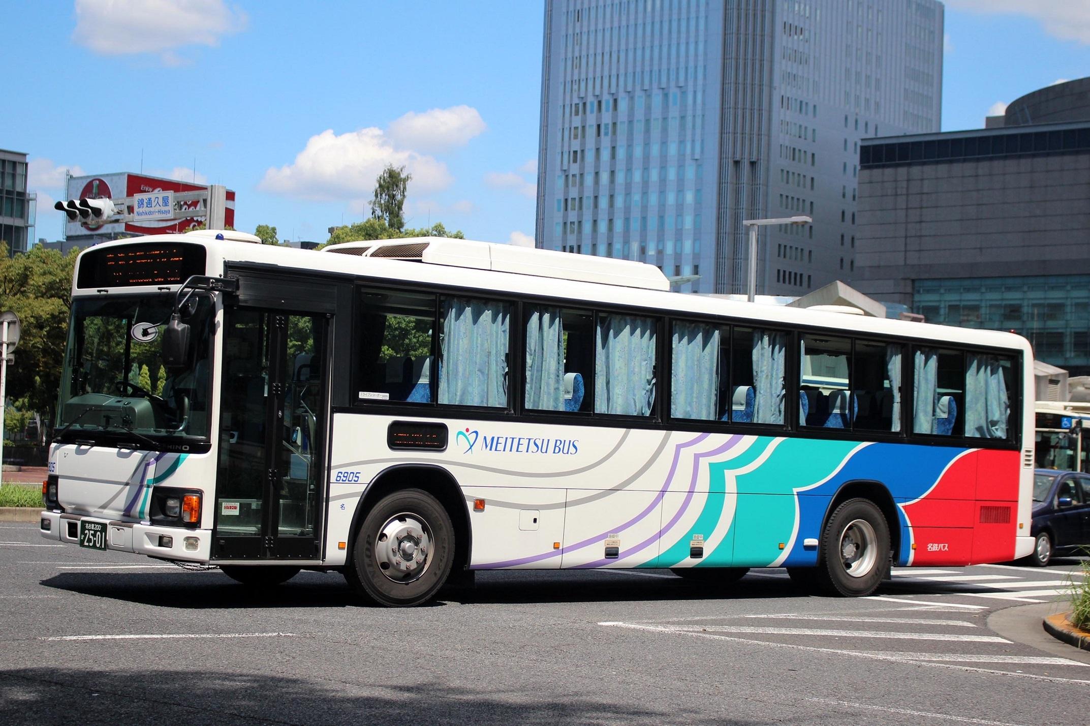 名鉄バス 6905