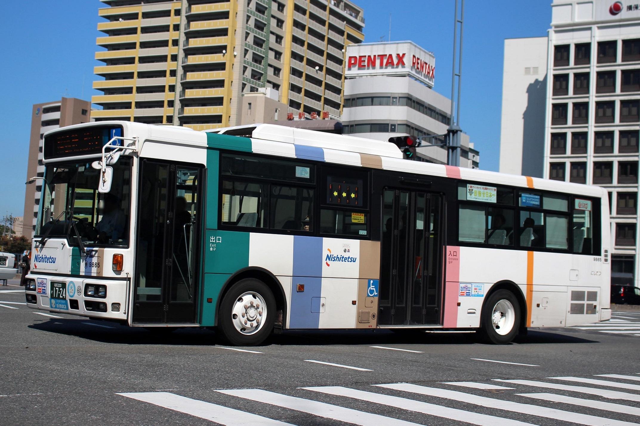 西日本鉄道 9865