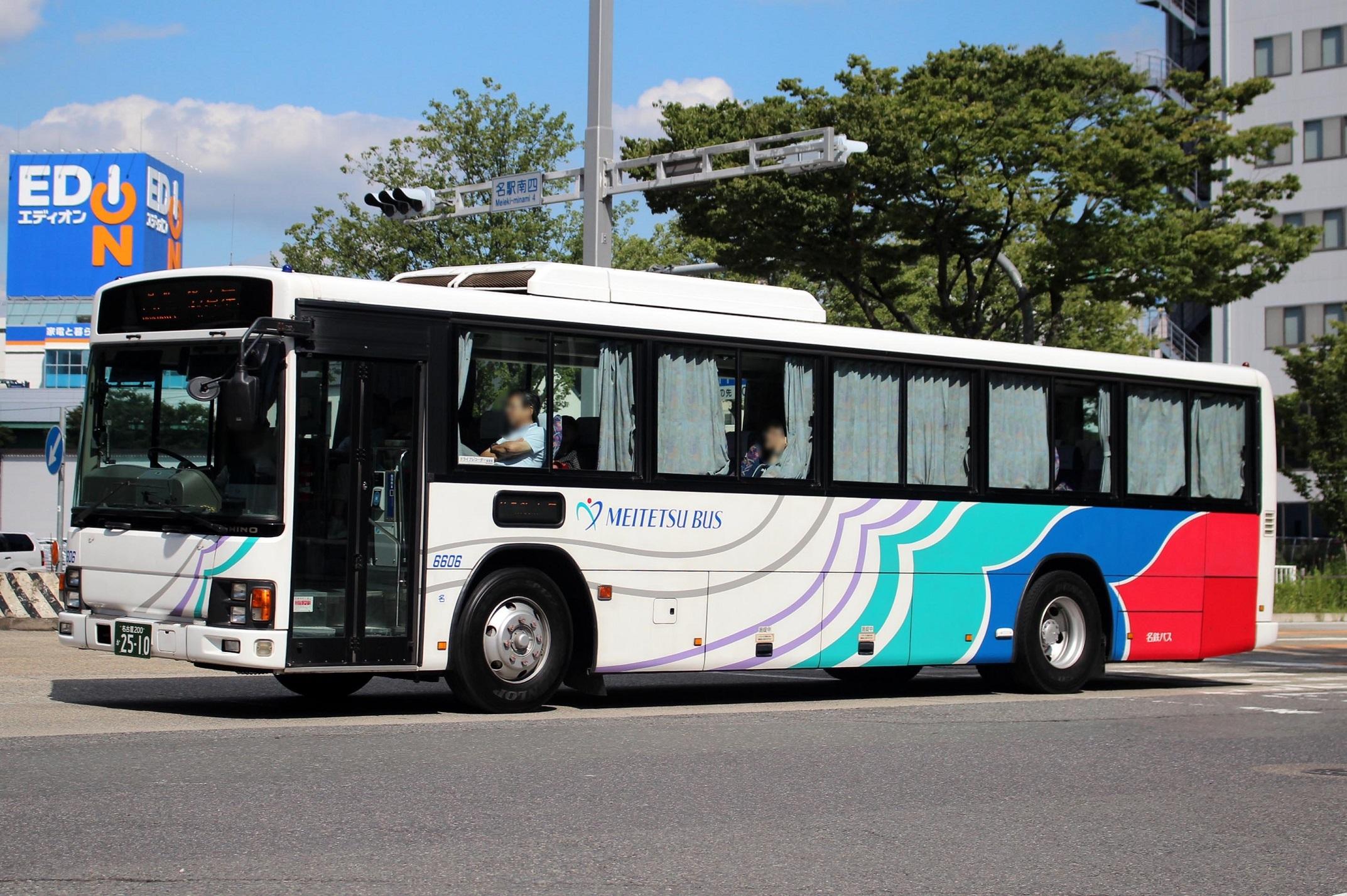 名鉄バス 6606