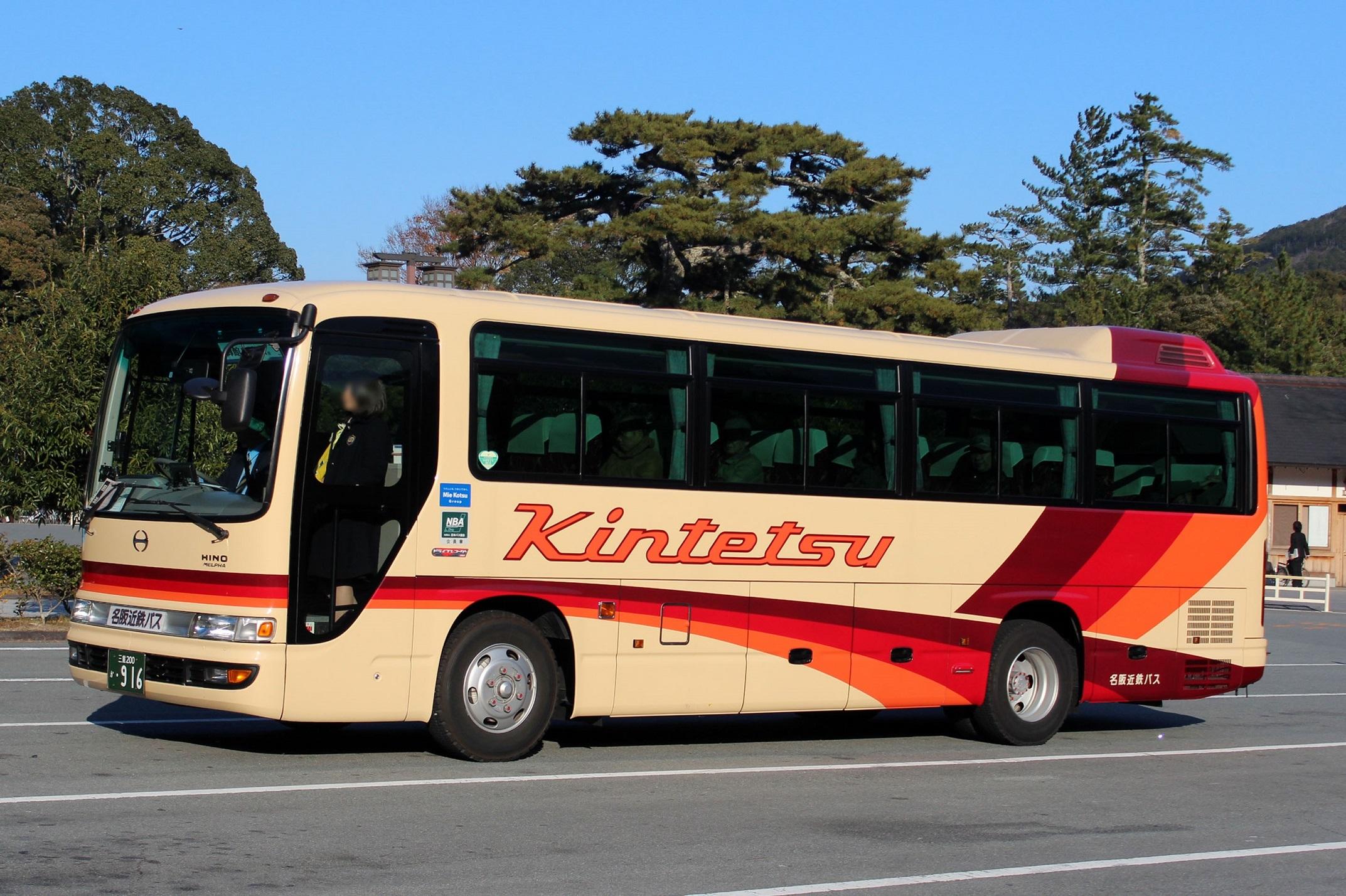 名阪近鉄バス か916