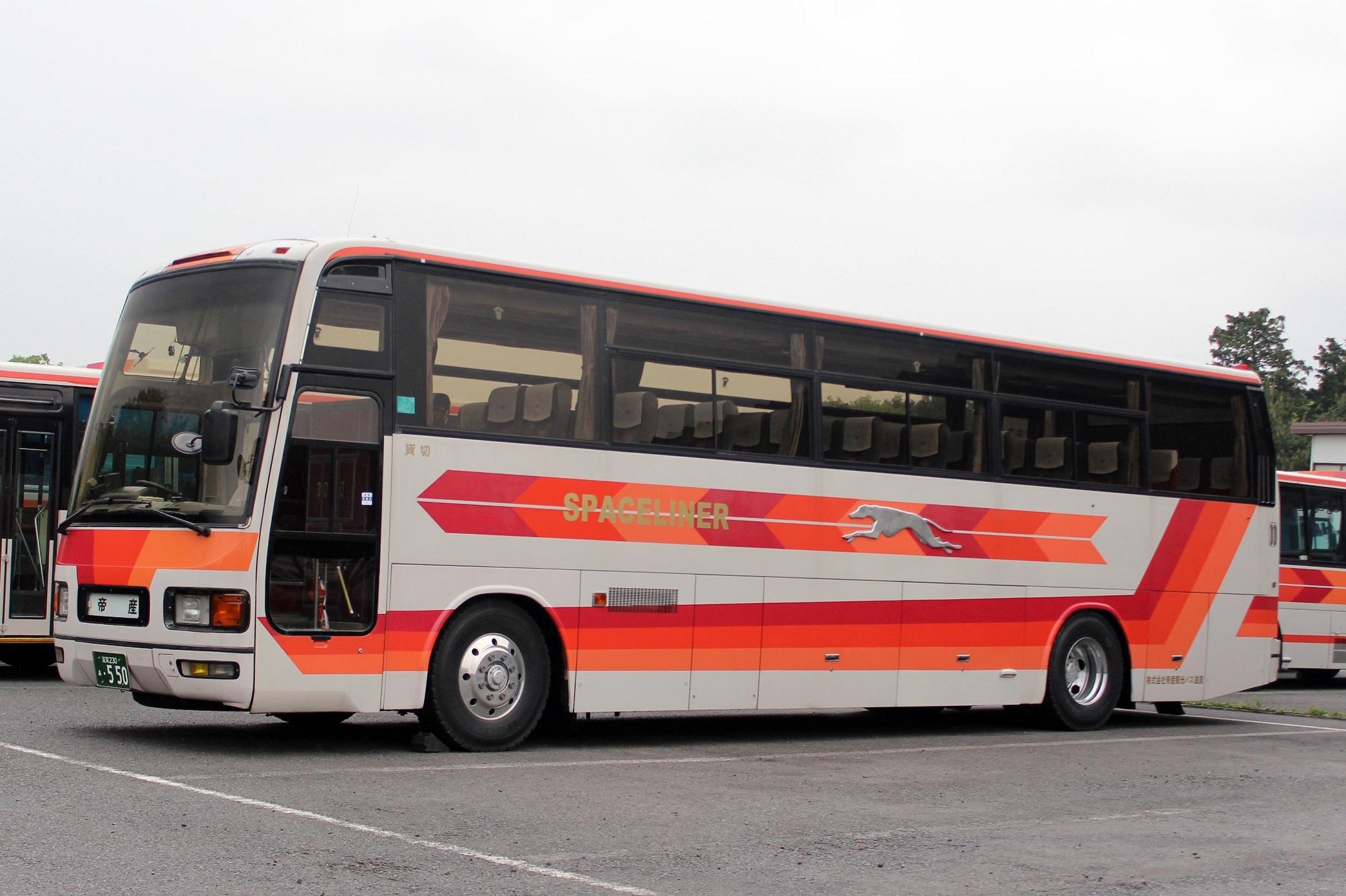 帝産観光バス滋賀 あ550