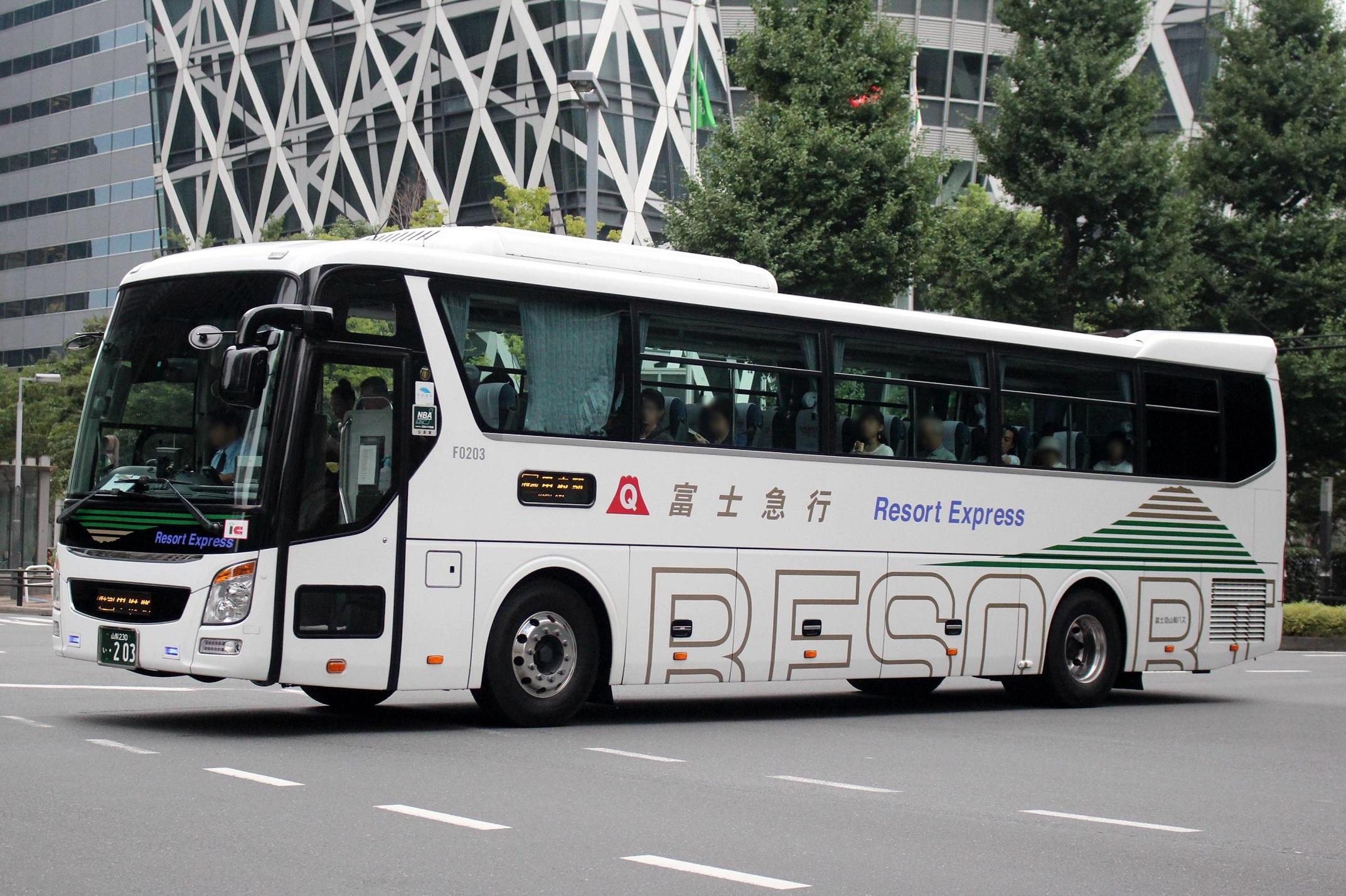 富士急山梨バス F0203