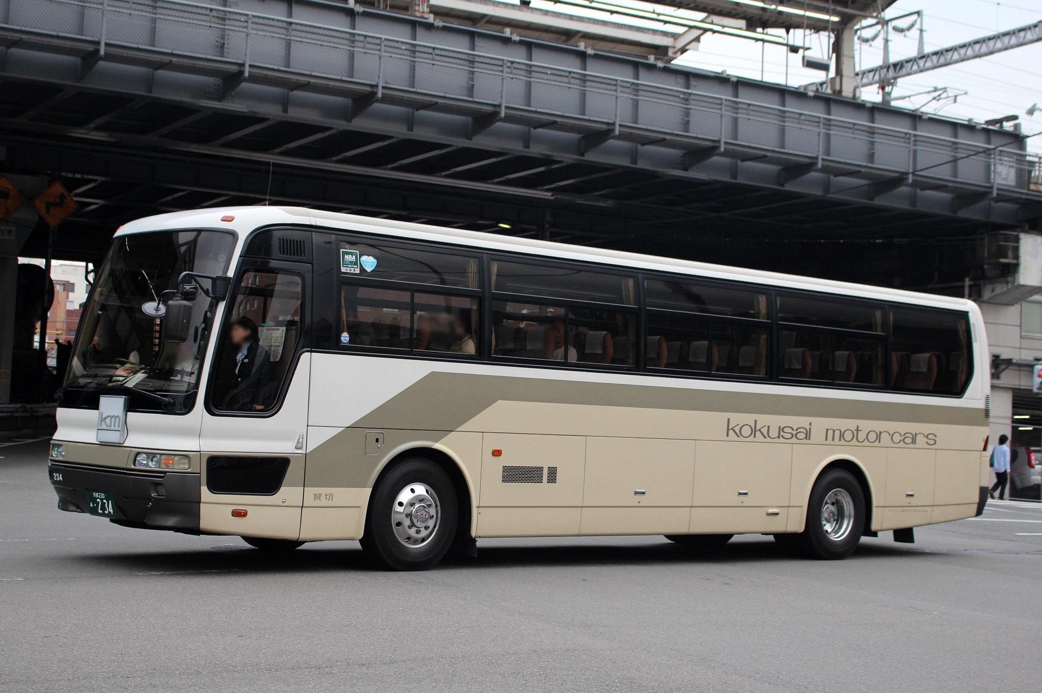 ケイエム観光バス 234