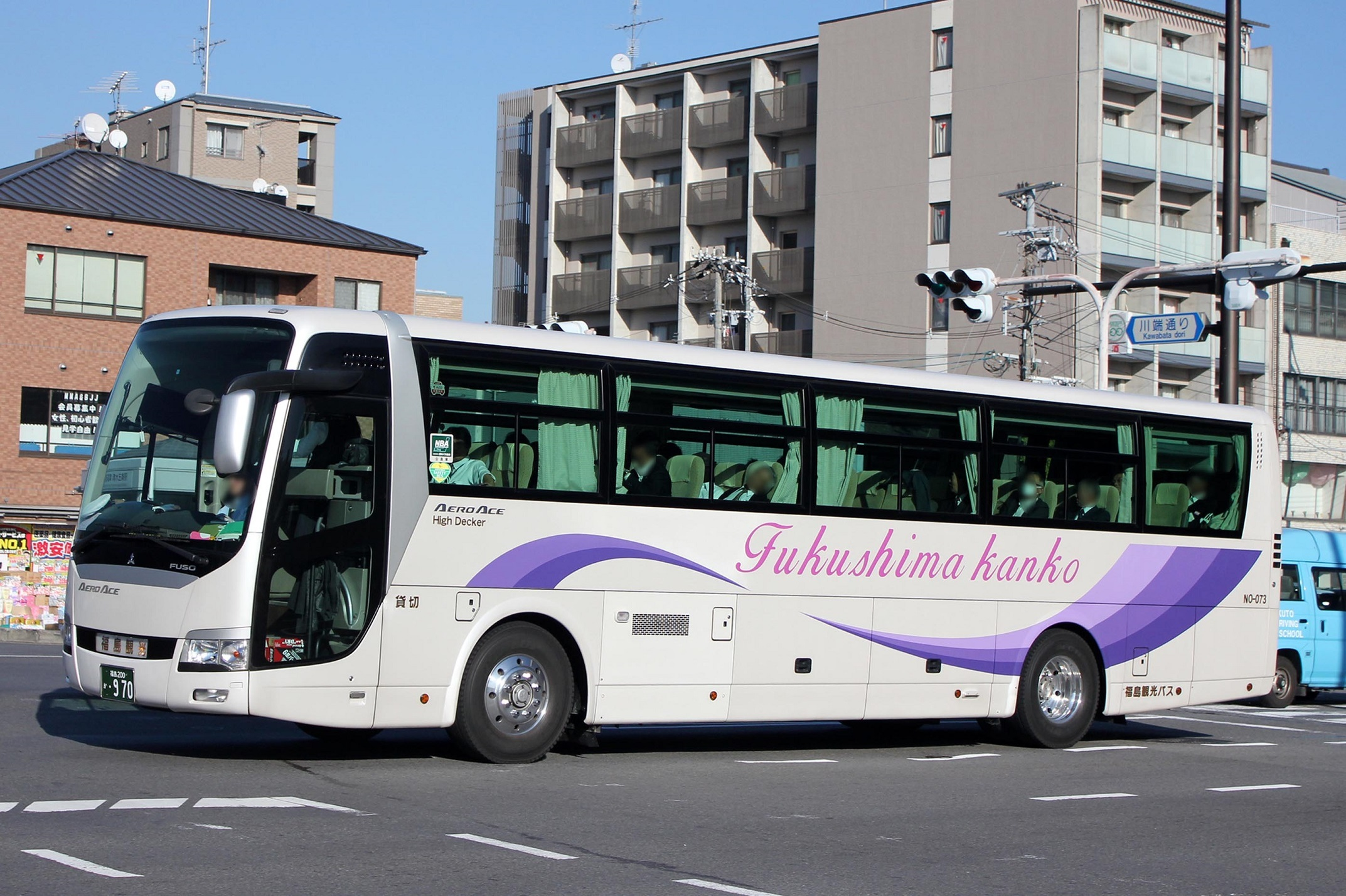福島観光バス か970