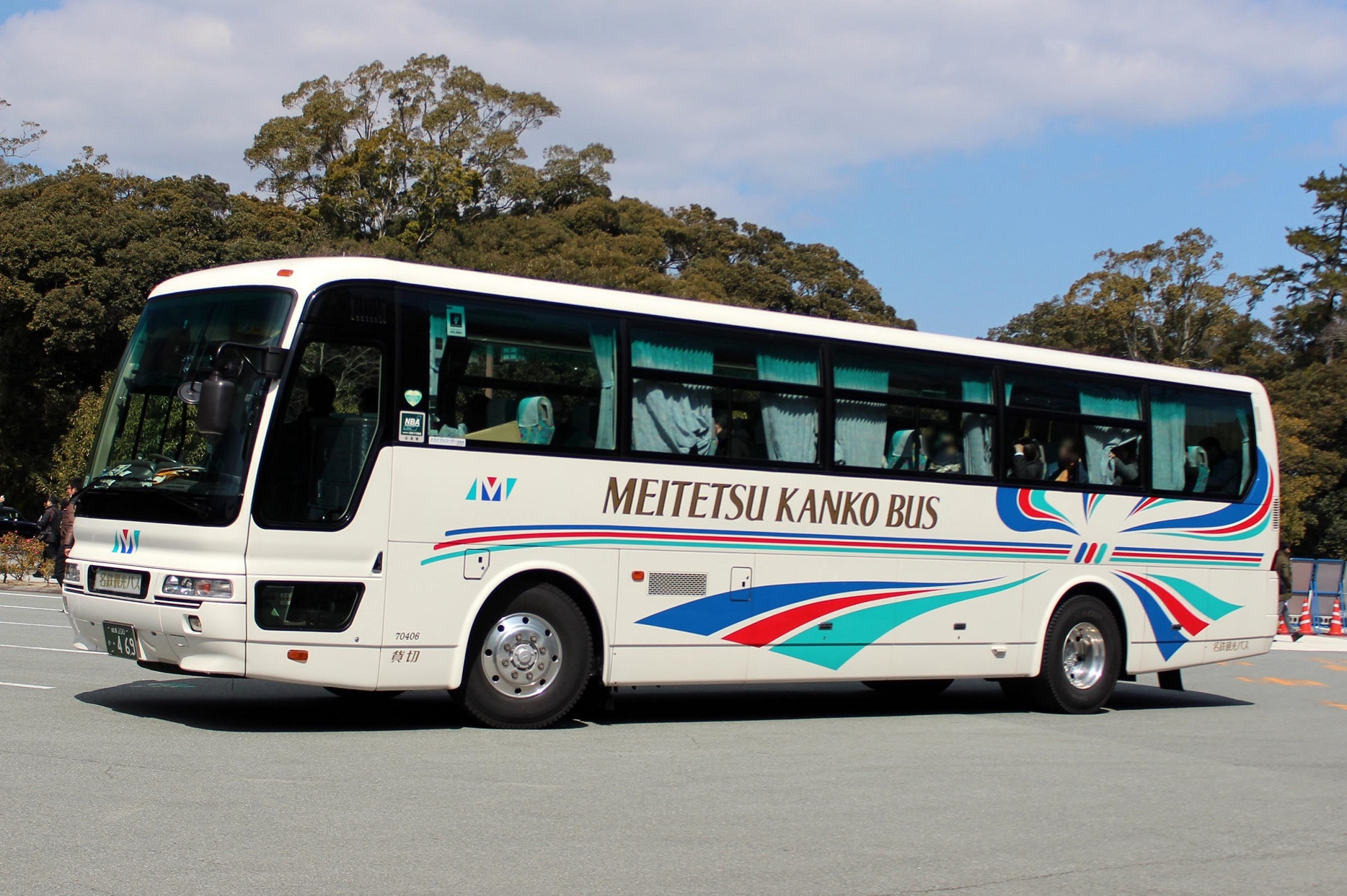 名鉄観光バス 70406