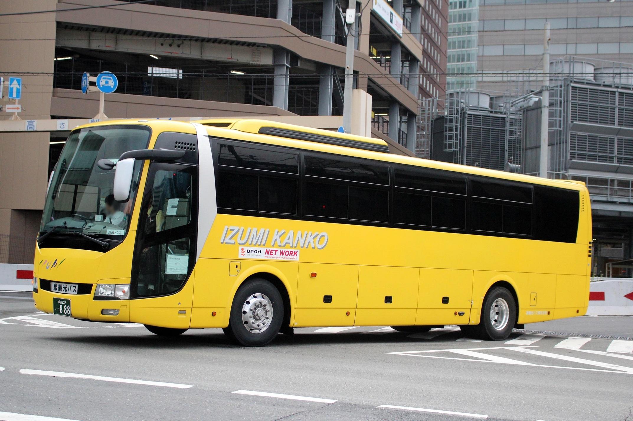 泉観光バス 232こ888