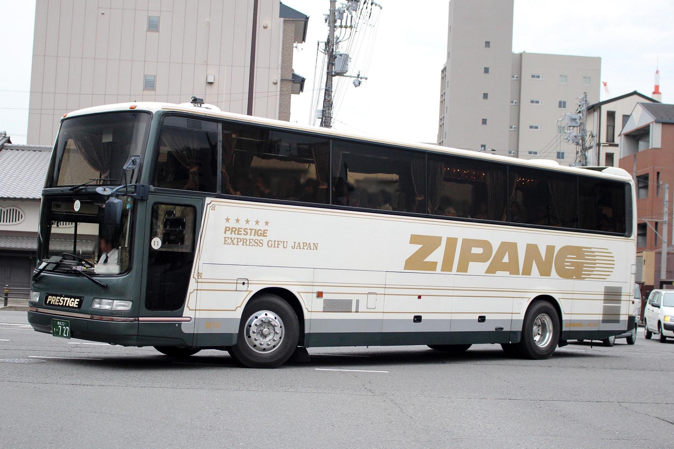 ZIPANGバス き727