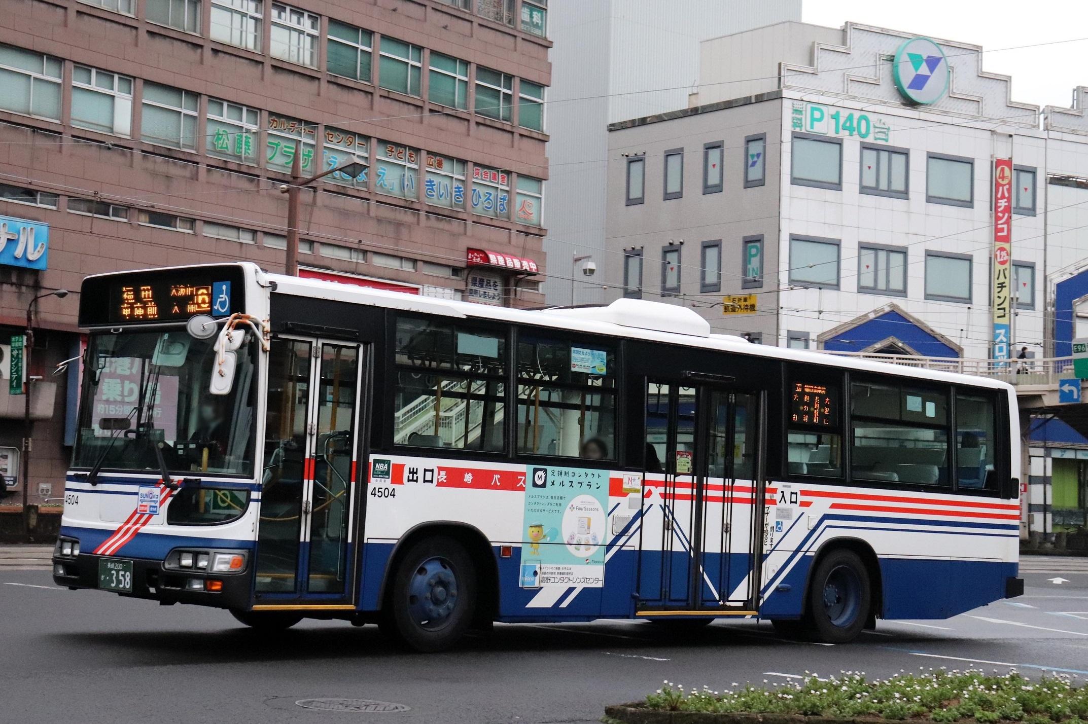 長崎自動車 4504