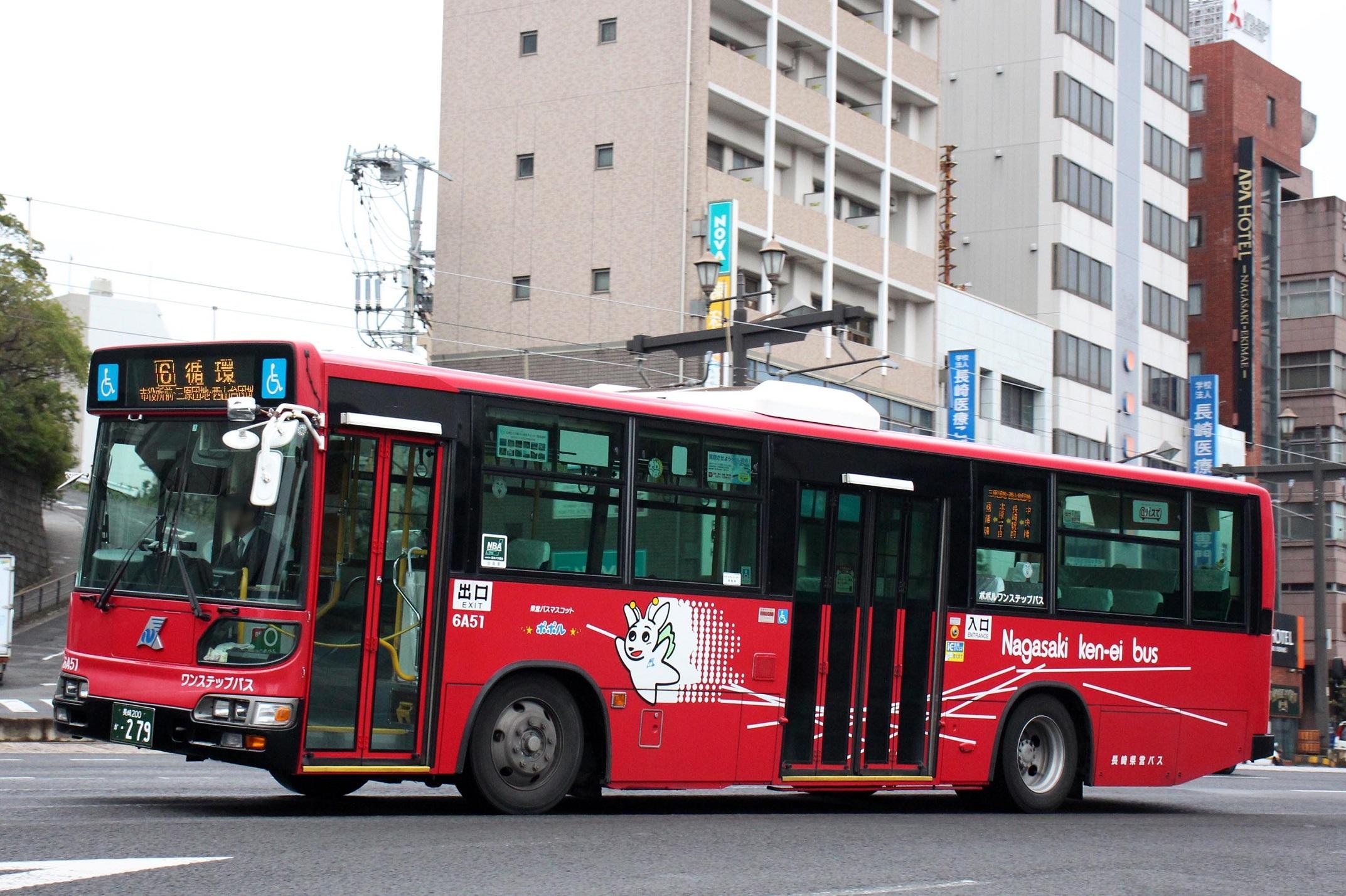 長崎県交通局 6A51