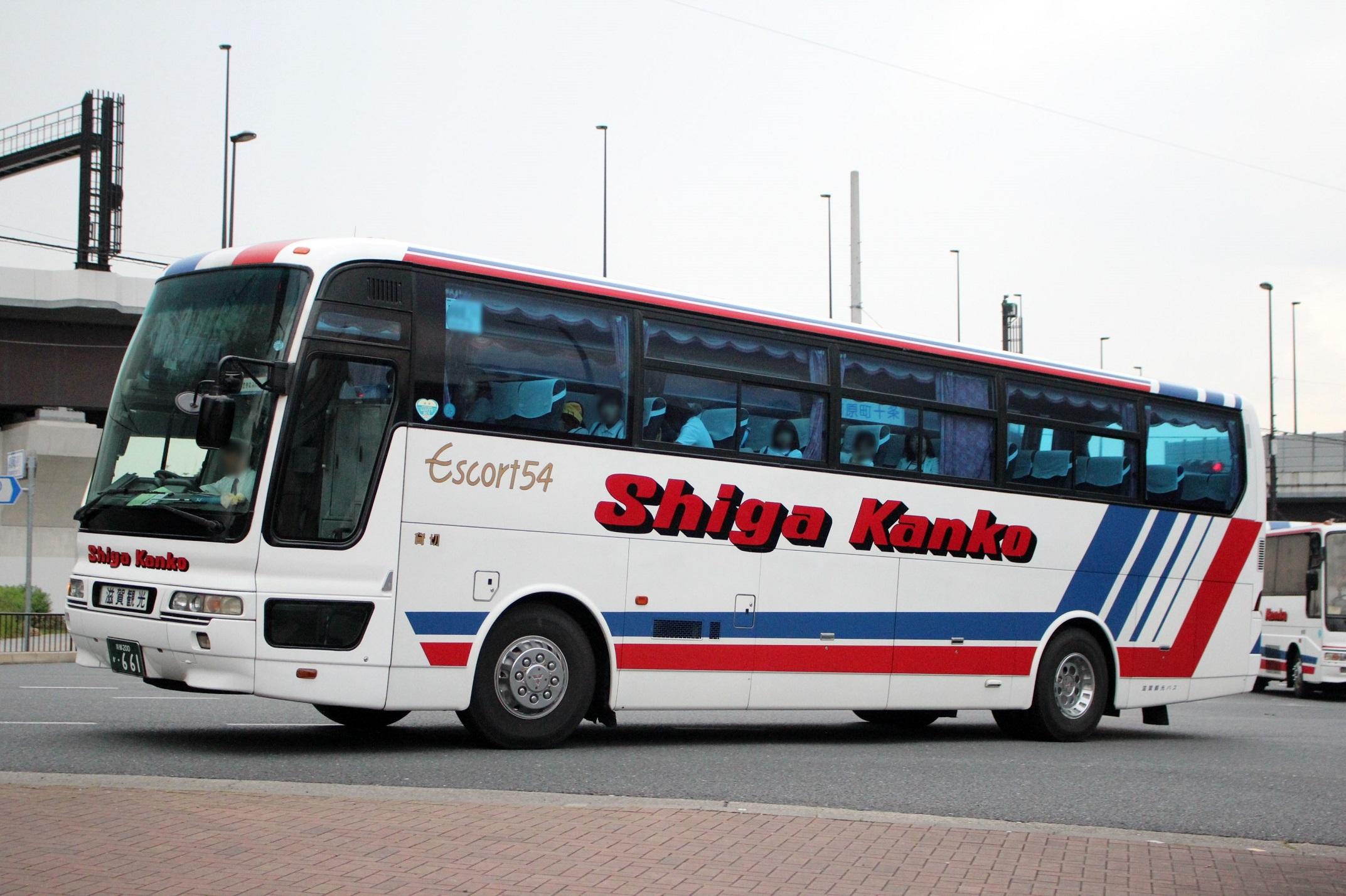 滋賀観光バス か661