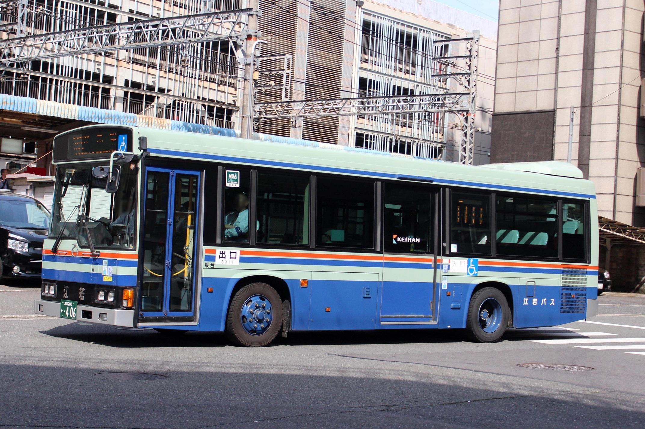 江若交通 か406
