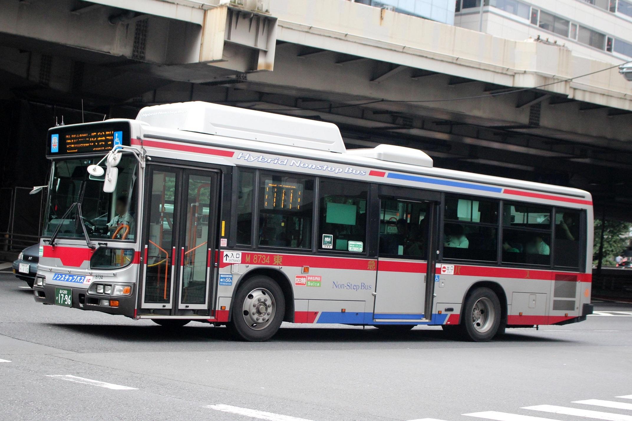 東急バス M8734