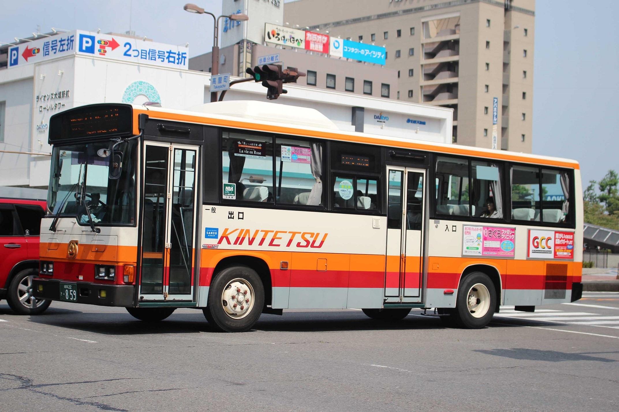 名阪近鉄バス き859