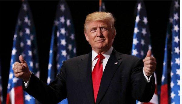 フリー写真 トランプ大統領 2020年10月24日