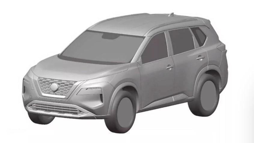 Nissan X-Trail patent