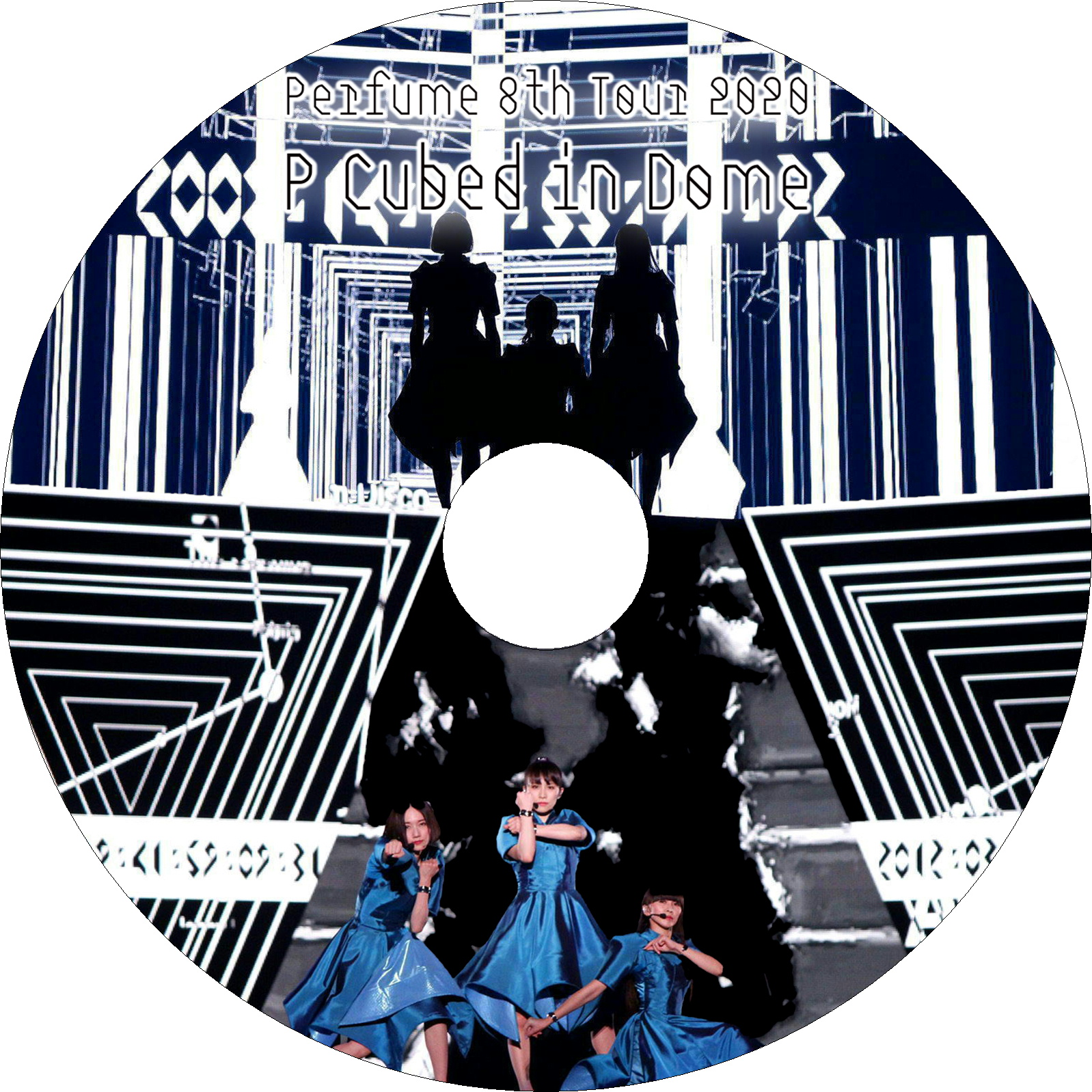 "Perfume 8th Tour 2020 ""P Cubed"" in Dome ラベル"