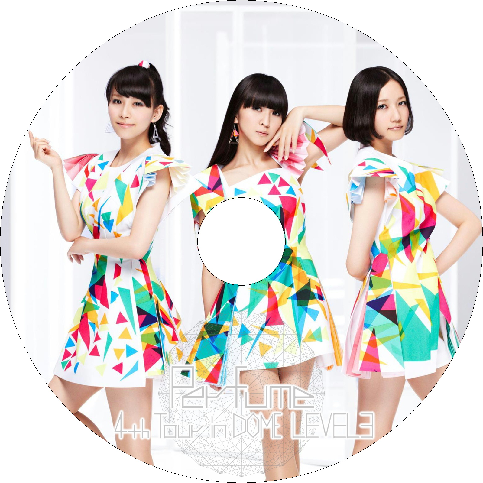 Perfume 4th Tour in DOME 「LEVEL3」 ラベル改・改