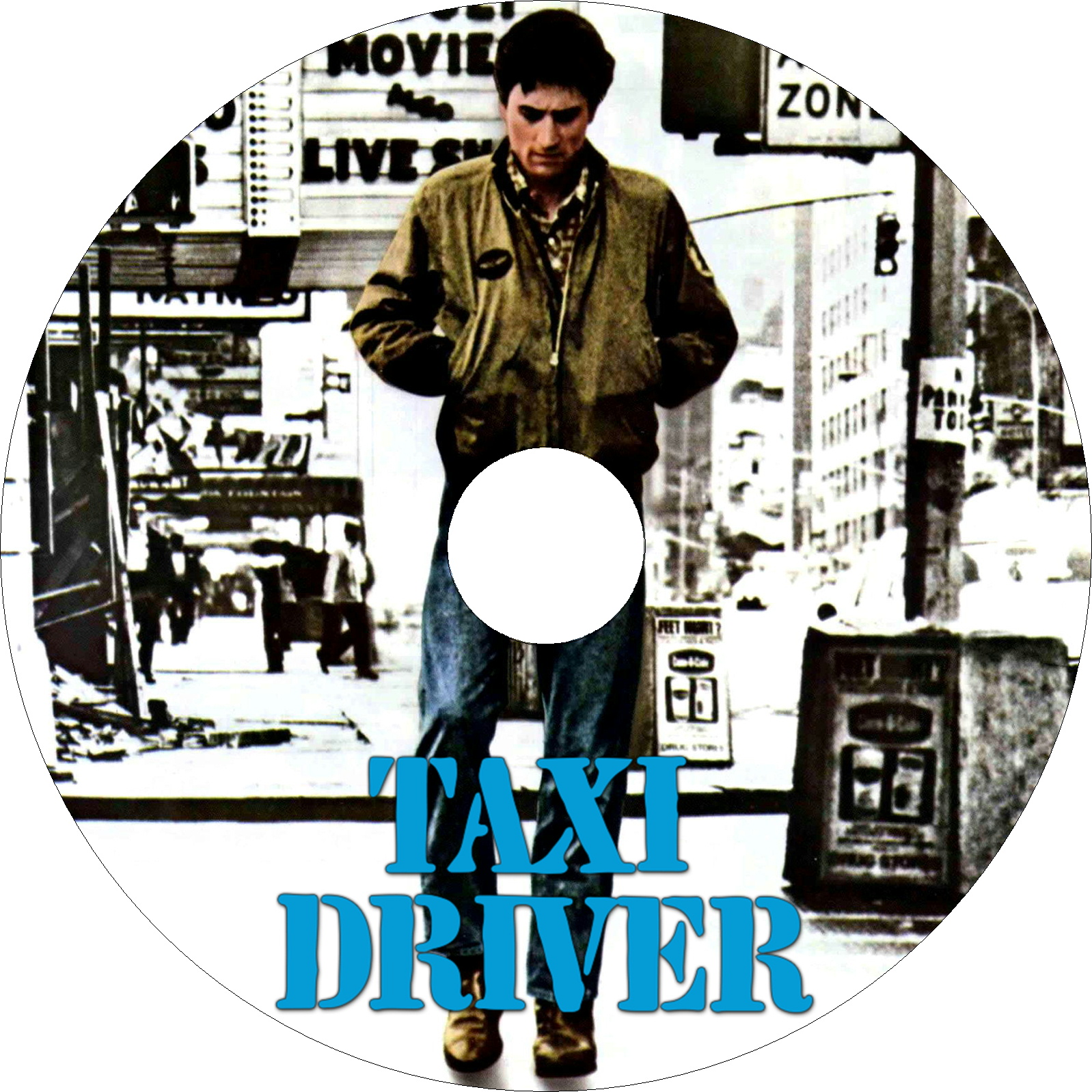 タクシードライバー ラベル1