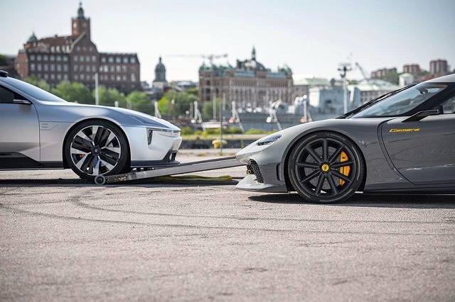 KoenigseggとPolestar