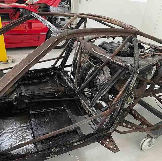 F40修理が始まる (4)
