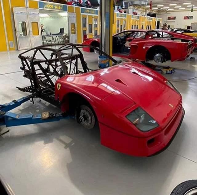 F40修理が始まる (1)
