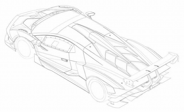 Lamborghini-SCV12特許図面 (3)