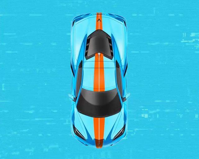 コルベットC8レーシングストライプ (3)