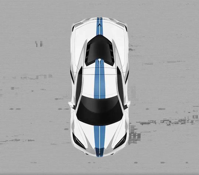 コルベットC8レーシングストライプ (4)