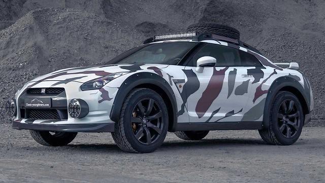 日産GT-Rゴジラ2 (2)