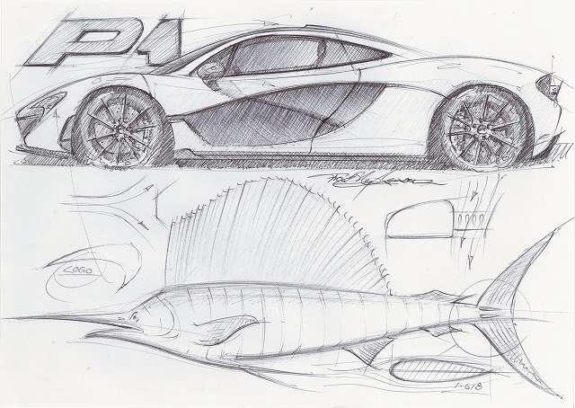 マクラーレンP1カジキが元デザイン