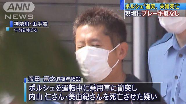 彦田嘉之容疑者(50)
