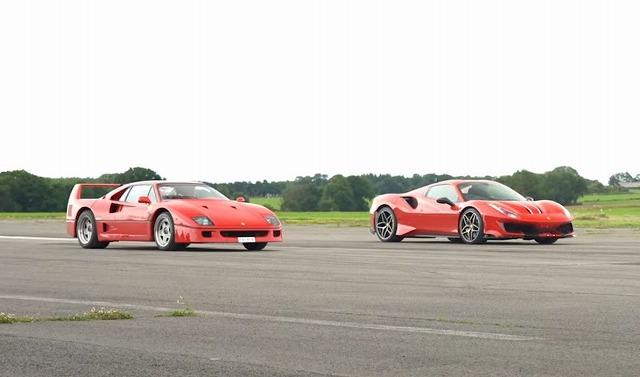 Ferrari-F40-Vs-488-Pista-Spider87 (1)