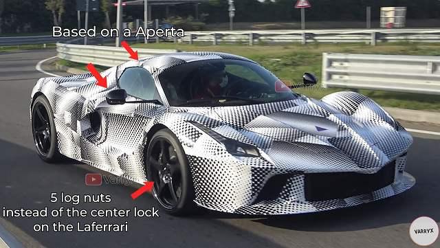 ラフェラーリ次期モデル (1)